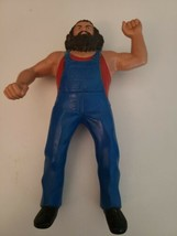 Vintage 1984 Hillbilly Jim Rubber Wrestling Action Figure Titan Sports L... - $24.51