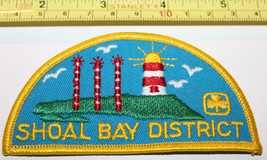 Girl Guides Shoal Bay District BC Canada Badge Label Patch - $8.17