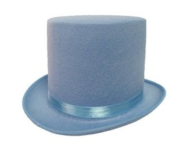 Jacobson Hat Company, Dumb and Dumber Style Baby Blue Felt Top Hat Adult... - €19,46 EUR