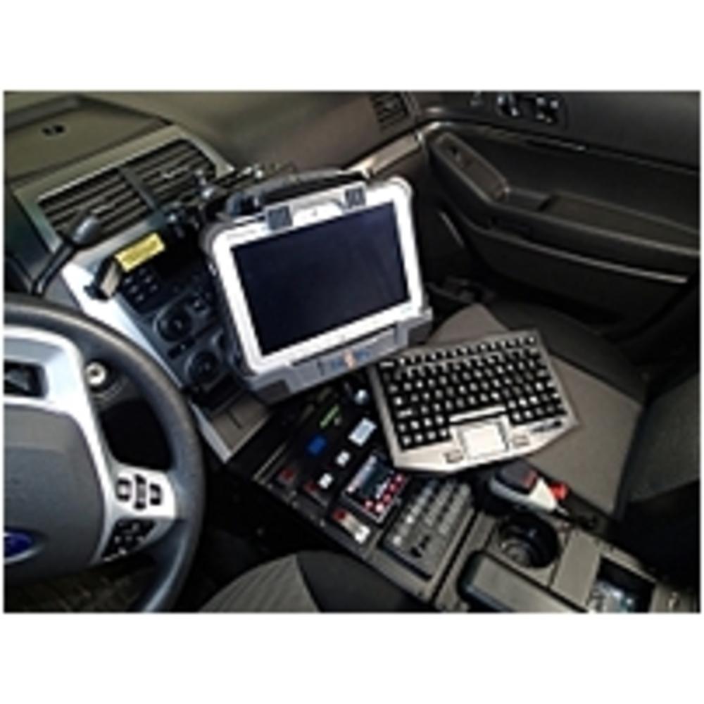 HAVIS C-DMM-123 Monitor Mount For 2013-2017 Ford Interceptor Utility - Black - $235.18