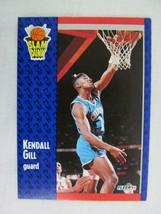 Kendall Gill Charlotte Hornets 1991 Fleer Basketball Card 232 - $0.98
