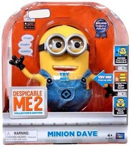 Despicable Me 2 9-inch Talking Figure - Dave - $253.50