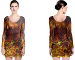 Cradle of filth to enslave long sleeve bodycon  dress thumb155 crop