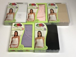 Womens Fruit of the Loom 100% Cotton Cami U Pick Size and Color - $8.99