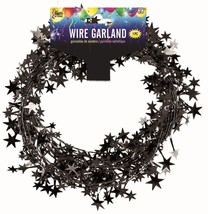 25 Foot Wire Garland - Black (12 pcs) - $22.81
