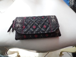 Vera Bradley clutch wallet in retired Laurel pa... - $14.50