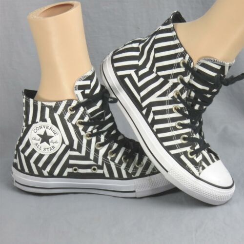 Converse Tout Étoile Chuck Tailleur Géométrique Rayé Échantillon Shoes Hommes 6