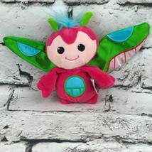 Ganz Webkinz First Edition Zoza Plush Pink Bug Zippy Sum Stuffed Animal Toy - $9.89