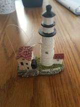 Boston Harbor Lighthouse Christmas Ornament - $35.52