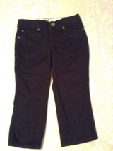 Justice pants capri  Size 7 Regular flat front Girls  - $11.79
