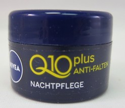Original GERMAN NIVEA Q10 NIGHT mini cream -5ml Made in Germany - $4.15