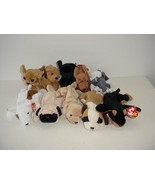 Lot of 10 Ty Beanie Baby Babies Plush 1995 to 1999 - $19.70