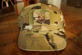 Usaf Us Air Force Multicam Ocp I/A E-7 +D Camouflage Combat Ballcap Ball Cap Hat - $27.71