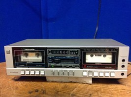 Realistic SCT-74 Dual Dubbing High Speed Stereo Cassette Deck - $92.57