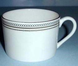 Vera Wang Wedgwood With Love Teacup Platinum & Gold Made in England New - $25.90