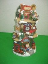 Vintage Resin Airport Happy Holidays Christmas Designed & Sculptured by Jaimy - $18.65