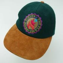 The Flame Pride Fuels Olympics Ball Cap Hat Adjustable Atlanta 1996 Starter - $29.69
