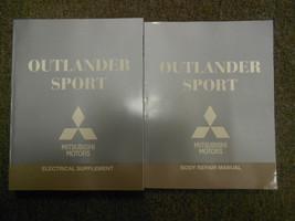 2011 MITSUBISHI Outlander Sport Body Electrical Service Repair Shop Manu... - $63.35