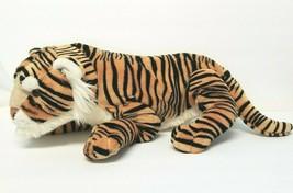 "Disney Parks Worldwide Plush Tiger Animal Kingdom 22"" RETIRED Stuffed An... - $26.11"
