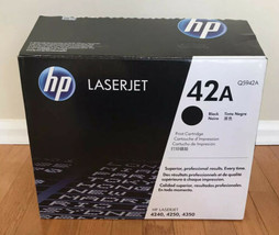 New Hp 504A CE250A Black Toner Cartridge Genuine Oem - $29.67