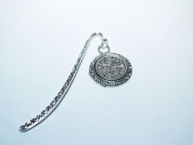 1953 65th Birthday Anniversary Sixpence Coin Bookmark with Shiny Sixpence