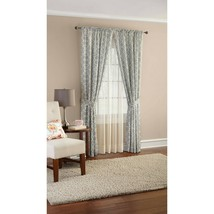 "Mainstays 84"" Curve Trellis Heavyweight Window Curtain Panel, 4 Piece Set  - $25.47"