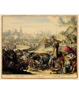 Vienna Austria Siege 4 - De'Hooghe 1683 - 23.00 x 27.67 - $36.58+