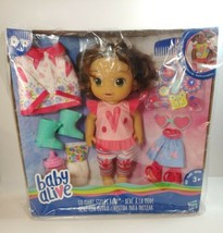 Baby Alive So Many Styles Brown Curly Hair Baby Girl - NEW & SEALED - $50.00