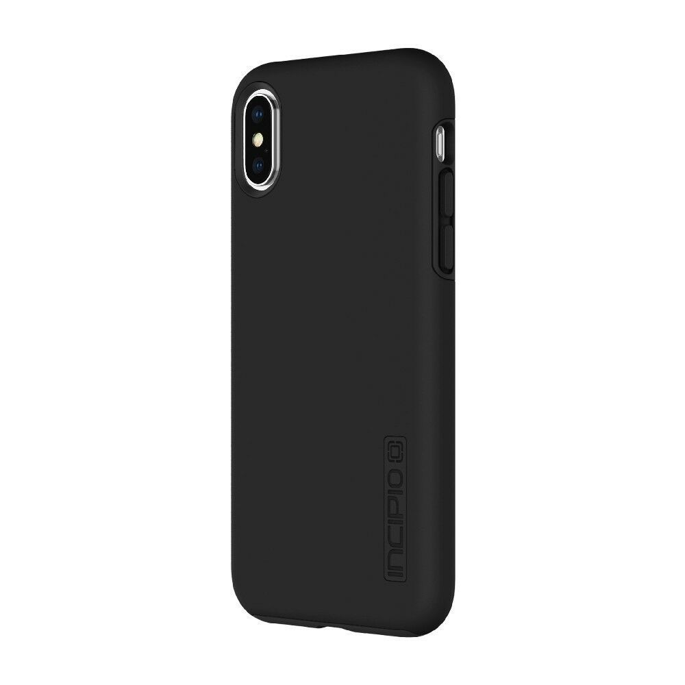 Incipio Dual Pro Shockproof Hybrid Case for iPhone X Black Free Delivery