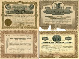 16 USA American Stock Share Certificate Oil Mining Pharmacy Company Collection  image 4
