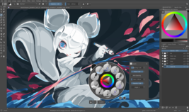 Krita (Digital Painting and 2D Animation Software) for Windows and Mac - $12.95