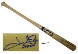 Jason Giambi signed Rawlings Pro Blonde Bat MVP 2000 (Athletics/Yankees/Rockies/ - $109.95