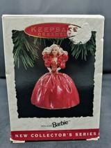 Hallmark Keepsake Holiday Barbie Collector's Ornament 1993 - 1st in Seri... - $11.87