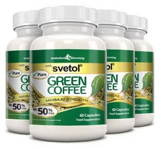 Pure Svetol Green Coffee Bean with 50% CGA 240 Capsules - $97.49
