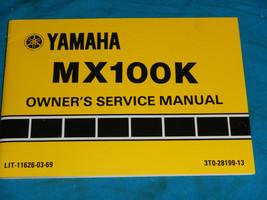 1983 83 Yamaha MX100 Mx 100 Shop Service Repair Manual - $59.66