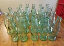 Lot 21 Vintage State Coca-Cola Bottles NY Arizona Denver TX St Louis Col... - $29.09