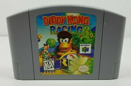 Diddy Kong Racing Nintendo 64 Game Cleaned Tested Authentic N64 US Version 1997 - $18.80