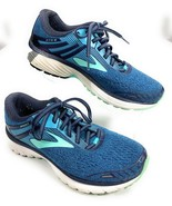 Brooks Adrenaline GTS 18 Athletic Road Running Shoes Blue Mint Green Wom... - $71.27