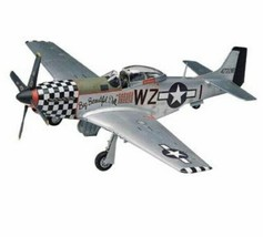 REVELL P-51D MUSTANG WWII AIRPLANE MODEL 1/48th  WZ Big Beautiful Doll - $16.82