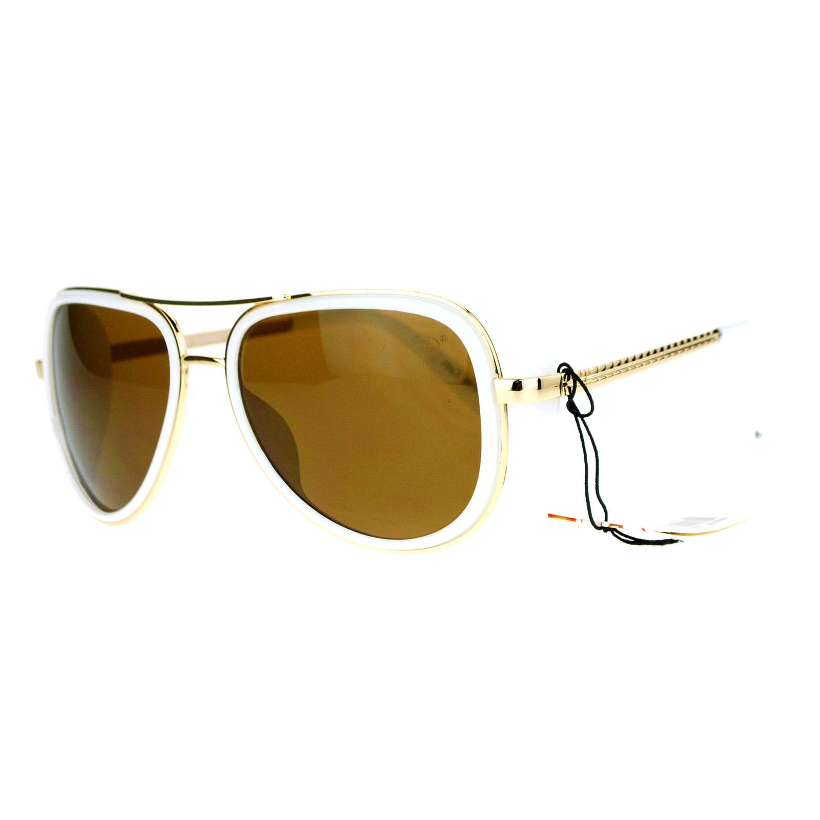 Studio Cover Side Shield Sunglasses Aviator Frame Unisex Fashion