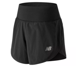 "New Balance Impact 5"" Size S Small Womens Zippered Pocket Running Shorts WS81264"