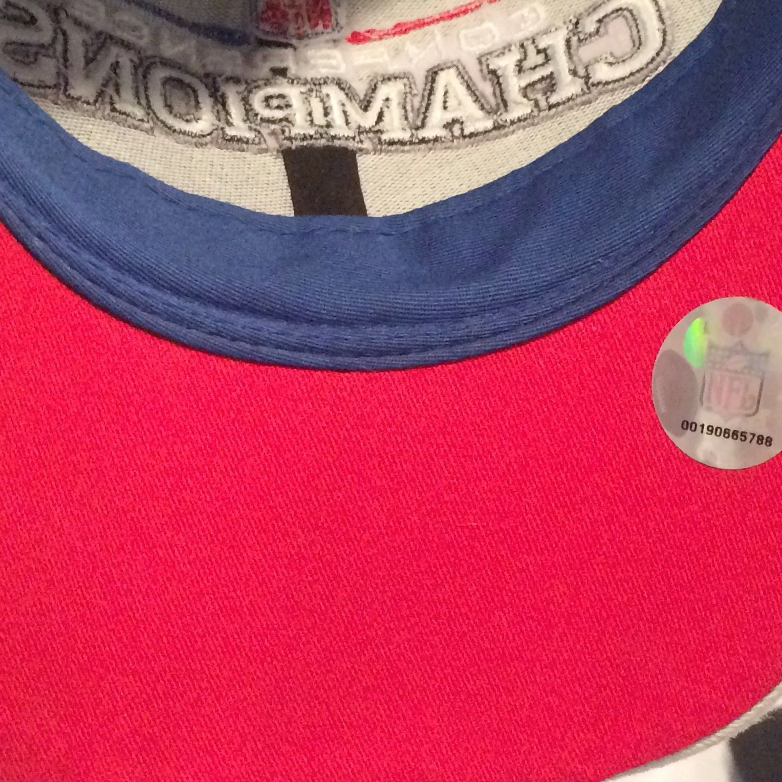 New England Patriots Reebok Conf Champions Super Bowl 42 Baseball Hat (17-3)