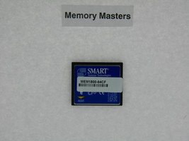 MEM1800-64CF 64MB Approved FLASH CARD MEMORY for Cisco 1800 routers