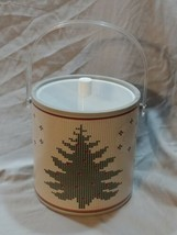 Vintage Holiday Christmas Tree Ice Bucket with Lid - $39.59