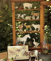 Vintage Storybook Farm Animals