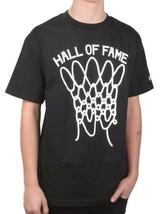 Hall of Fame HOF Mens Black Nothing But Net Basketball Shot T-Shirt NWT image 2