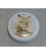 Vista Alegre Minou-ettes Cat Porcelain Covered Box - $10.89