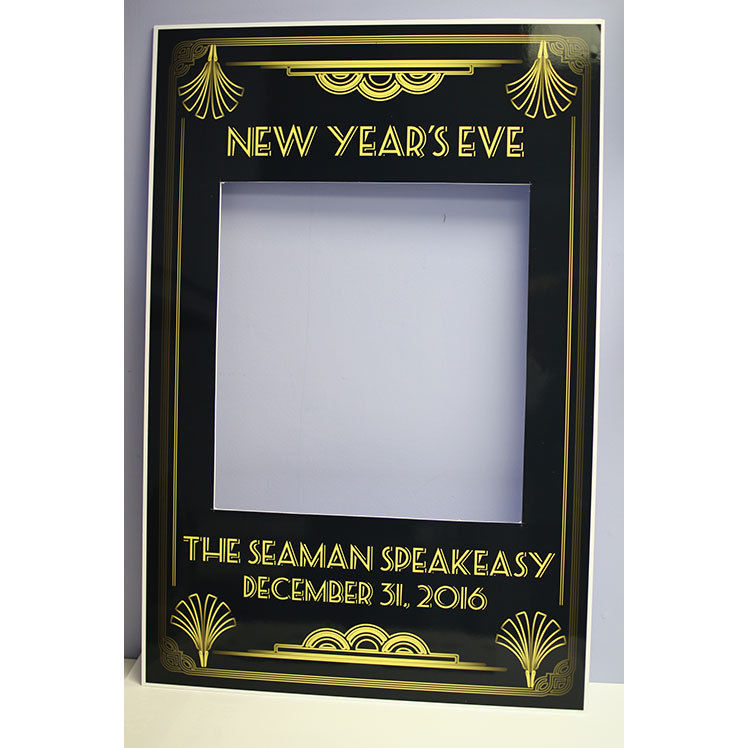 Great Gatsby Art Deco Polaroid Selfie Frame and 50 similar items