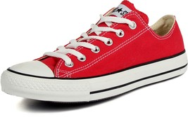Converse Chuck Taylor All Star Low Top (4 D (M) Red US, Red,) - $57.42