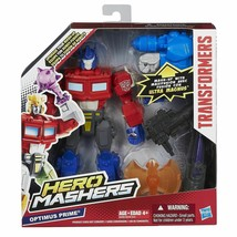 Hasbro Highly Collectable Transformers Hero Mashers Optimus Prime Action... - $28.42